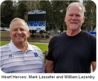 Heart Heroes: Mark Lasseter And William Lazenby